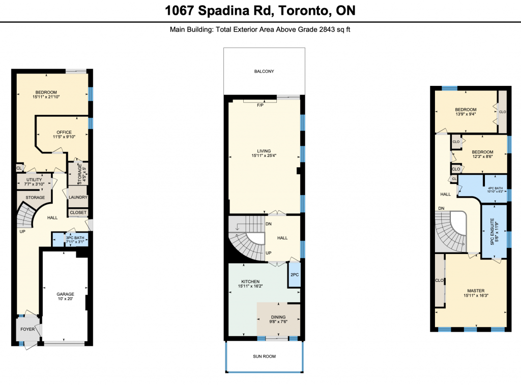 Floor Plan - 1067 Spadina Rd
